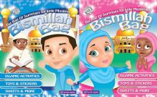 Bismillah Surprises Bag for little Muslim Boys & Muslimah Girls Eid Gift Ideas